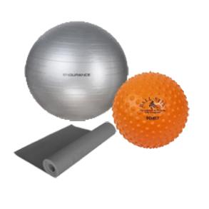 Gymnastik bolde og div udstyr